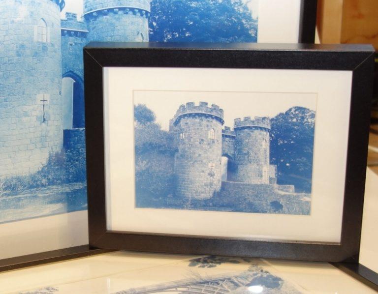 Cyanotype Castle
